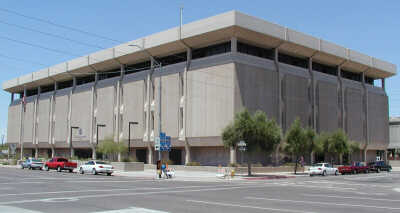 Phoenix Police Headquarters.